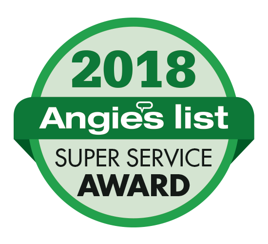 Angie's List Super Service 2018 for Grand Finale Cleaning services of LaGrange KY servicing all of Louisville Kentucky and surrounding areas