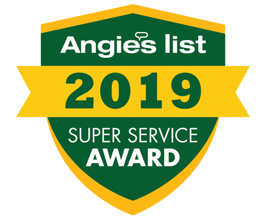 Angie's List Super Service 2019 for Grand Finale Cleaning services of LaGrange KY servicing all of Louisville Kentucky and surrounding areas